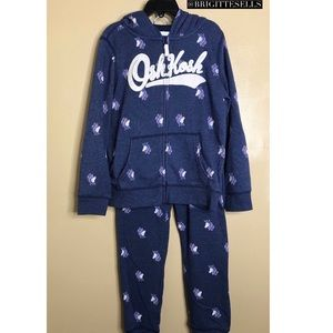 OshKosh B'gosh Kid Logo Hoodie & Pants Set